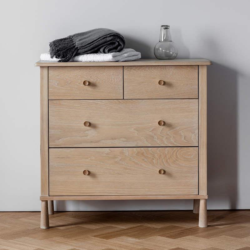 Wycombe 4 Drawer Chest 98 x 47.5 x 93.2cm